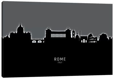 Rome Italy Skyline Canvas Art Print