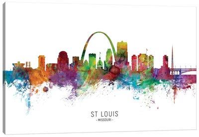 St Louis Missouri Skyline Canvas Art Print
