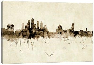 Tampa Florida Skyline Canvas Art Print