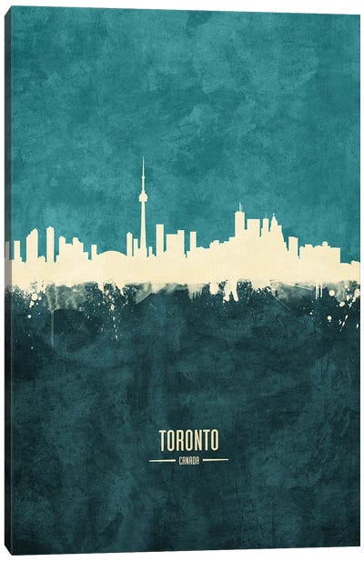 Toronto Canada Skyline Canvas Art Print