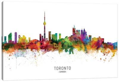 Toronto Canada Skyline Canvas Art Print