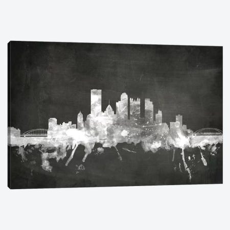 Pittsburgh, Pennsylvania, USA Canvas Print #MTO19} by Michael Tompsett Canvas Artwork
