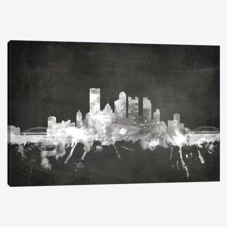 Pittsburgh, Pennsylvania, USA Canvas Print #MTO19} by Michael Tompsett Canvas Artwork