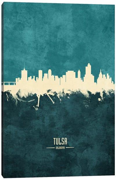 Tulsa Oklahoma Skyline Canvas Art Print