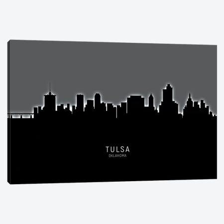 Tulsa Oklahoma Skyline Canvas Print #MTO2005} by Michael Tompsett Canvas Print