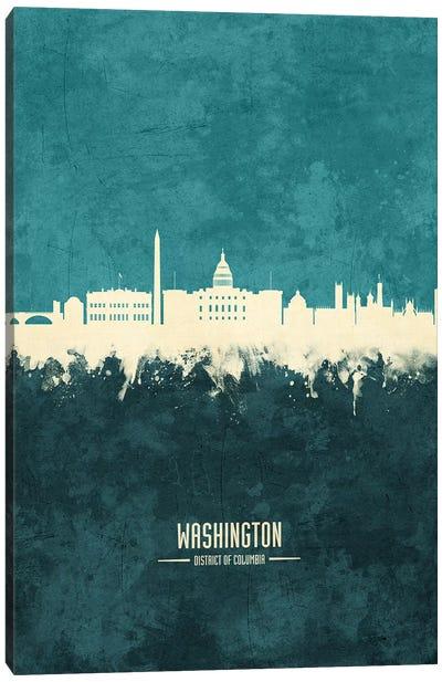 Washington DC Skyline Canvas Art Print