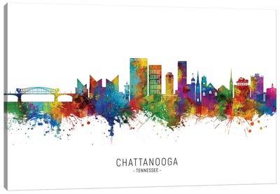 Chattanooga, Tennessee Skyline Canvas Art Print