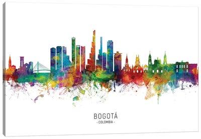 Bogota, Colombia Skyline Canvas Art Print