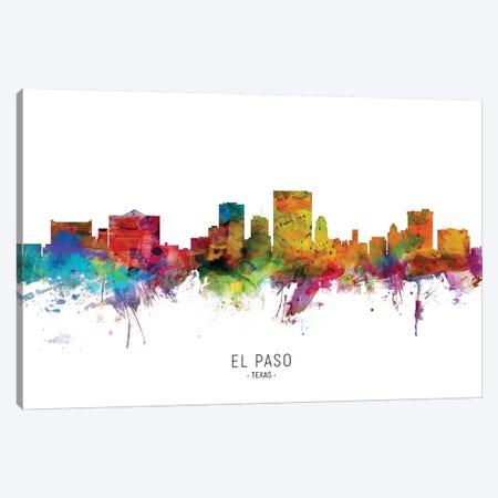 El Paso Texas Skyline Canvas Print #MTO2033} by Michael Tompsett Canvas Print