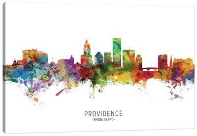 Providence Rhode Island Skyline Canvas Art Print