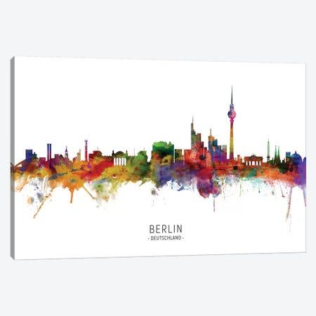 Berlin Germany Skyline Canvas Print #MTO2055} by Michael Tompsett Canvas Artwork