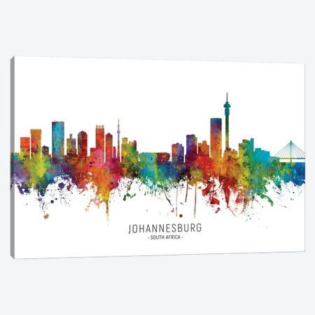 Johannesburg South Africa Skyline Canvas Print #MTO2065} by Michael Tompsett Canvas Print