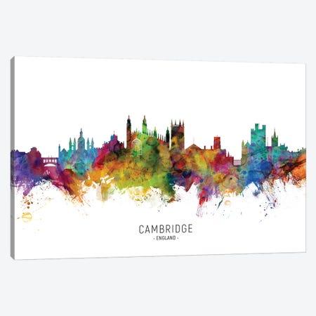 Cambridge England Skyline Canvas Print #MTO2079} by Michael Tompsett Canvas Art Print