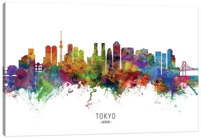 Tokyo Japan Skyline Canvas Art Print