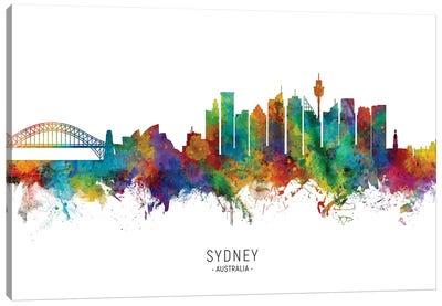 Sydney Australia Skyline Canvas Art Print