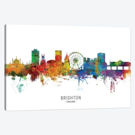 Brighton England Skyline Canvas Print #MTO2093} by Michael Tompsett Canvas Art Print