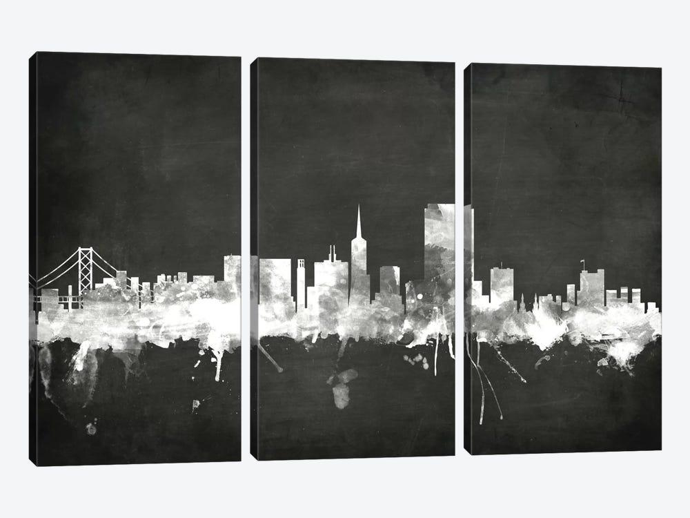San Francisco, California, USA by Michael Tompsett 3-piece Art Print