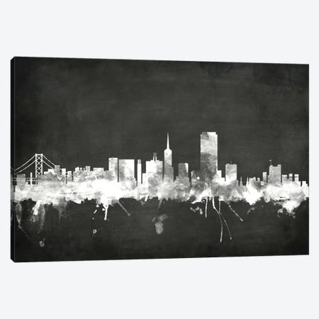 San Francisco, California, USA Canvas Print #MTO20} by Michael Tompsett Art Print