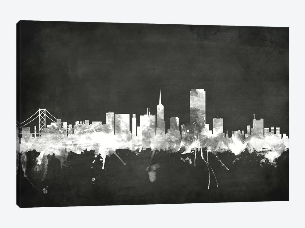 San Francisco, California, USA by Michael Tompsett 1-piece Art Print