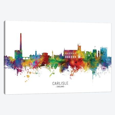 Carlisle England Skyline Canvas Print #MTO2106} by Michael Tompsett Canvas Artwork