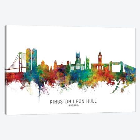 Kingston Upon Hull Skyline Canvas Print #MTO2123} by Michael Tompsett Art Print