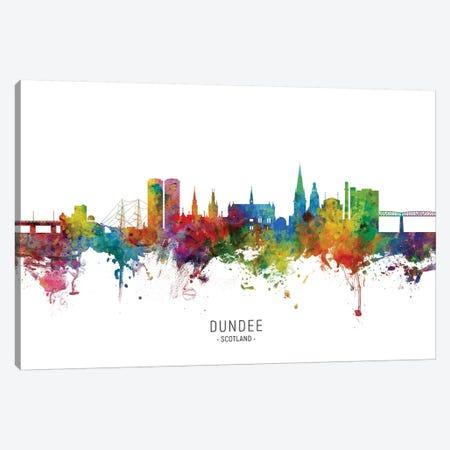 Dundee Scotland Skyline Canvas Print #MTO2124} by Michael Tompsett Canvas Wall Art