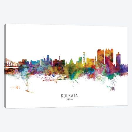 Kolkata India Skyline Canvas Print #MTO2140} by Michael Tompsett Canvas Art Print