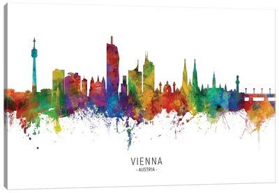 Vienna Austria Skyline Canvas Art Print