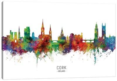 Cork Ireland Skyline Canvas Art Print