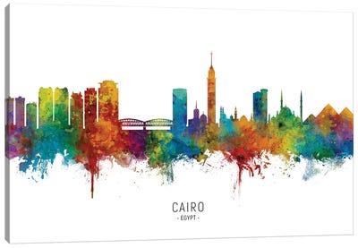 Cairo Egypt Skyline Canvas Art Print