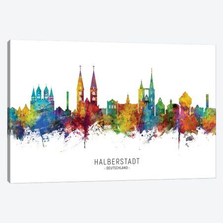 Halberstadt Skyline Canvas Print #MTO2163} by Michael Tompsett Canvas Art Print