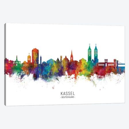 Kassel Deutschland Skyline Canvas Print #MTO2186} by Michael Tompsett Canvas Artwork