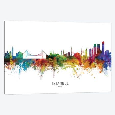 Istanbul Turkey Skyline Canvas Print #MTO2199} by Michael Tompsett Canvas Artwork
