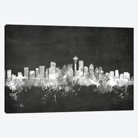 Seattle, Washington, USA Canvas Print #MTO21} by Michael Tompsett Art Print