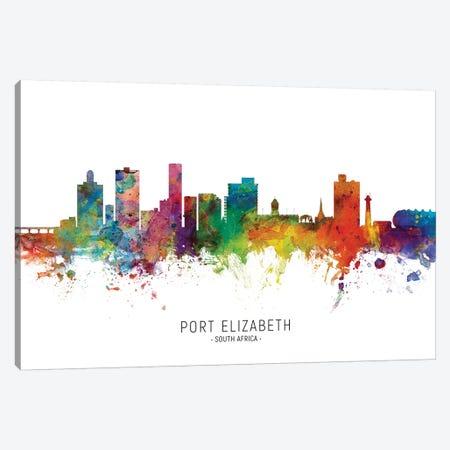 Port Elizabeth Skyline Canvas Print #MTO2204} by Michael Tompsett Canvas Print