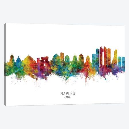 Naples Italy Skyline Canvas Print #MTO2211} by Michael Tompsett Canvas Art Print