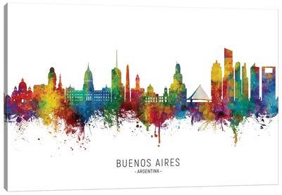 Buenos Aires Argentina Skyline Canvas Art Print