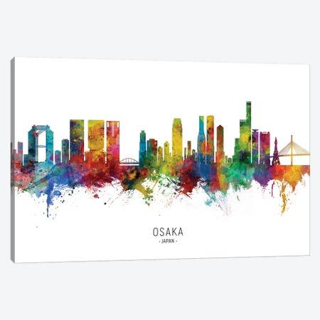 Osaka Japan Skyline Canvas Print #MTO2250} by Michael Tompsett Canvas Print