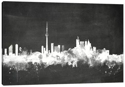 Blackboard Skyline Series: Toronto, Canada Canvas Print #MTO22