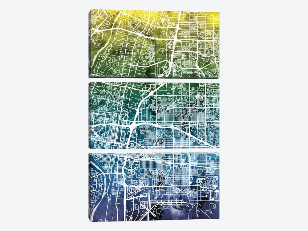 Albuquerque, New Mexico, USA by Michael Tompsett 3-piece Art Print