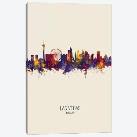 Las Vegas Nevada Skyline Fall Canvas Print #MTO2508} by Michael Tompsett Canvas Print