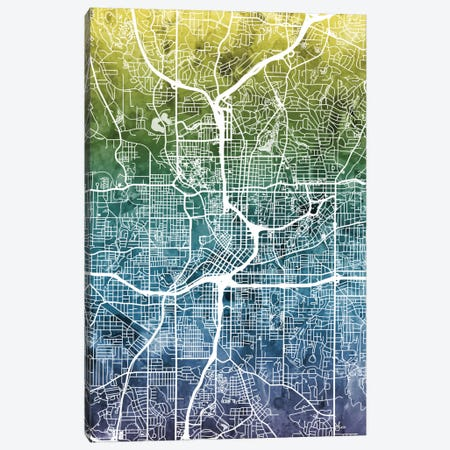 Atlanta, Georgia, USA Canvas Print #MTO25} by Michael Tompsett Canvas Art
