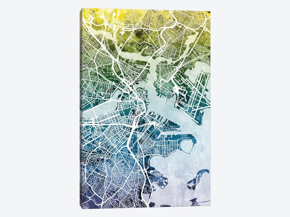 Boston, Massachusetts, USA by Michael Tompsett 1-piece Art Print
