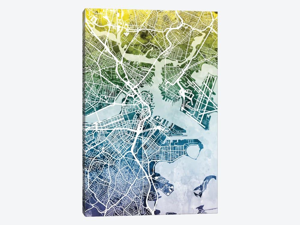 Boston, Massachusetts, USA Canvas Art by Michael Tompsett | iCanvas