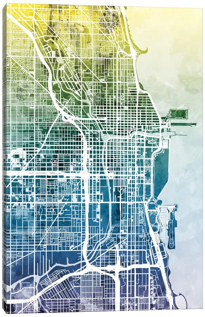 Chicago, Illinois, USA Canvas Art Print
