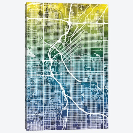 Denver, Colorado, USA Canvas Print #MTO28} by Michael Tompsett Canvas Print