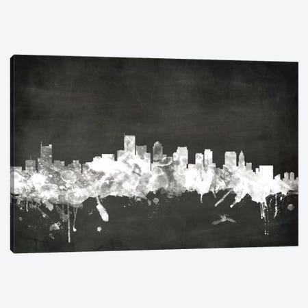 Boston, Massachusetts, USA Canvas Print #MTO2} by Michael Tompsett Art Print