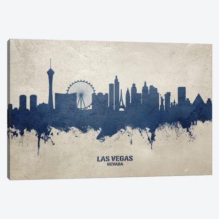 Las Vegas Nevada Skyline Concrete Canvas Print #MTO3033} by Michael Tompsett Canvas Artwork