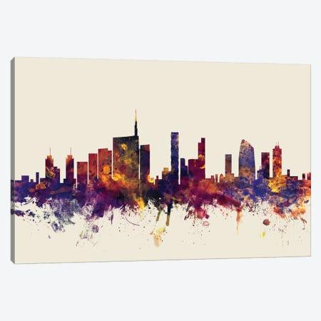 Milan, Italy On Beige Canvas Print #MTO342} by Michael Tompsett Canvas Art