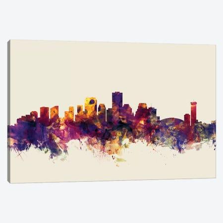 New Orleans, Louisiana, USA On Beige Canvas Print #MTO358} by Michael Tompsett Art Print